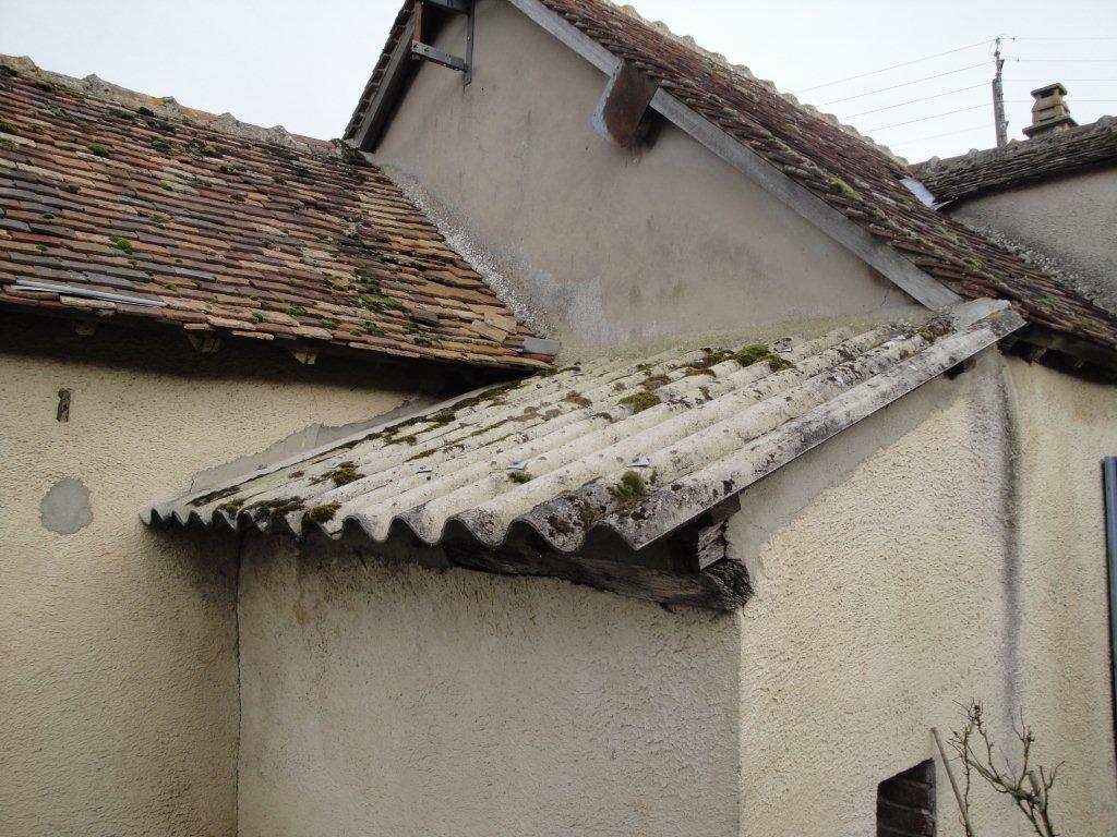 amiante sur toiture